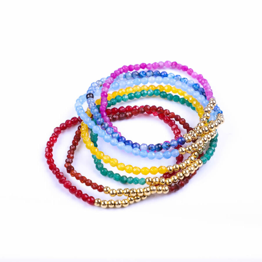 pulseras chakras joyeria artesanal mexico