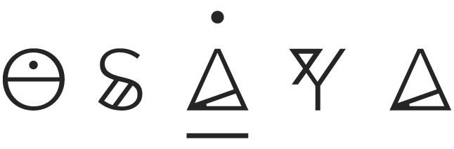 logo osaya joyeria artesanal